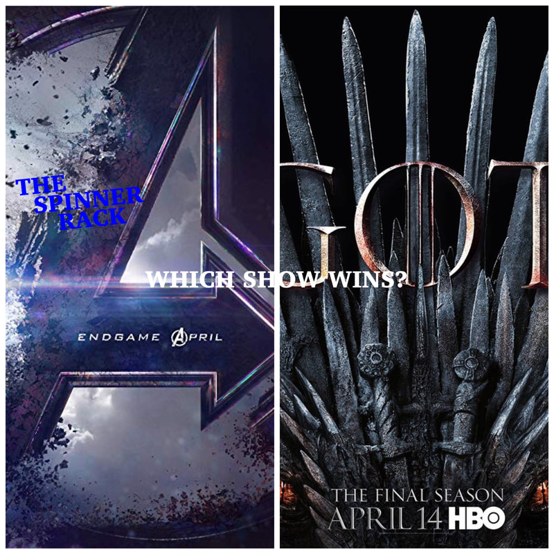 Picture Avengers Endgame vs Game of Thrones