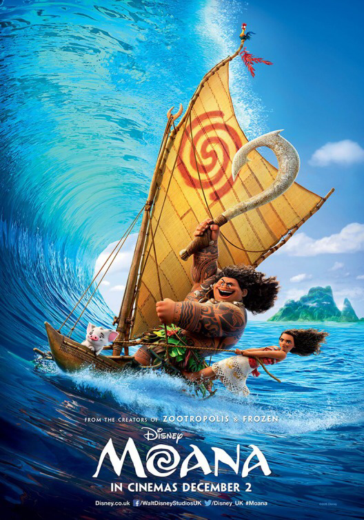 Disney's Moana Sailing Picture